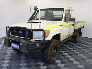 2008 Toyota Landcruiser Workmate (4x4) V