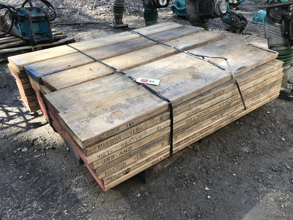Pallet of Timber Planks