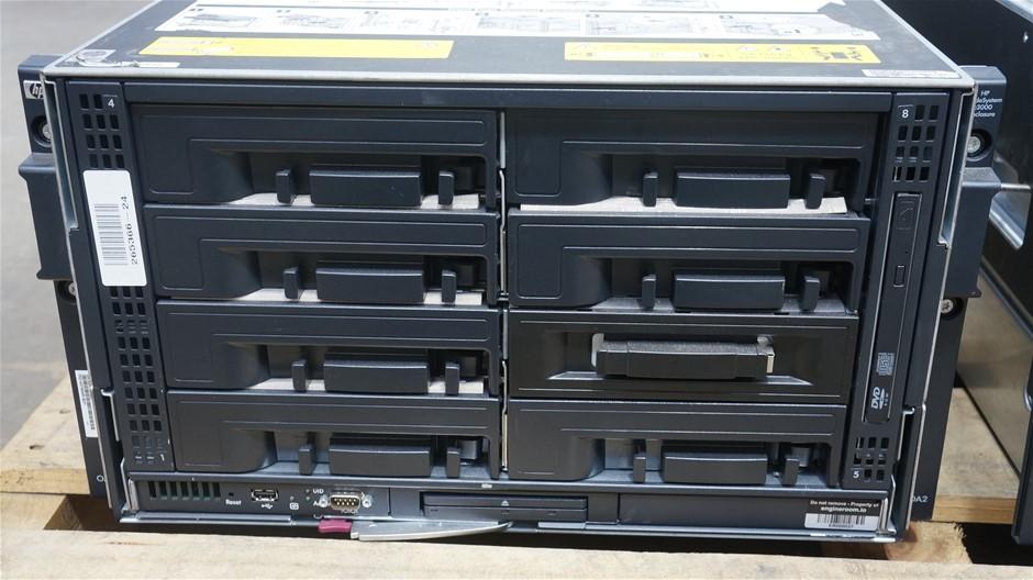 HP BL c3000 Server Blade Enclosure 437504R-B21