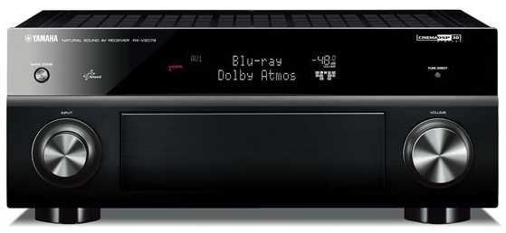 Yamaha RX-V2079 9.2ch Network AV Receiver (Black)