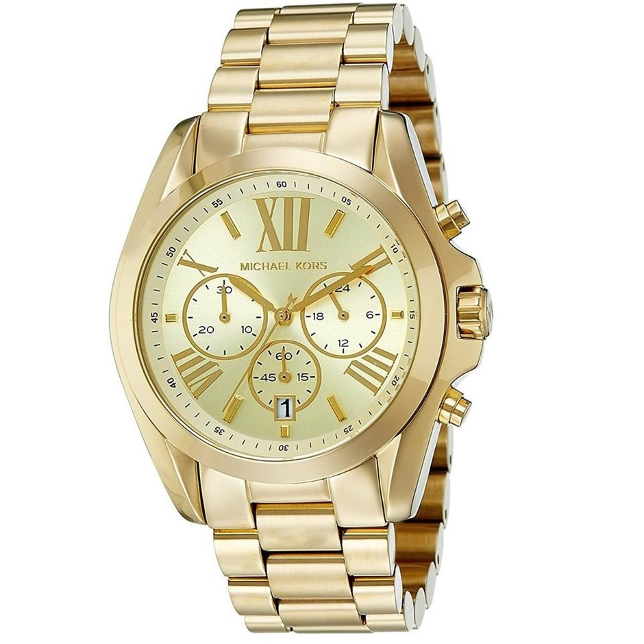 Stylish new Michael Kors Bradshaw chronograph unisex watch.