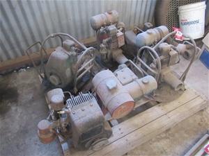 A Qty of Flex Drive Motors and Engines