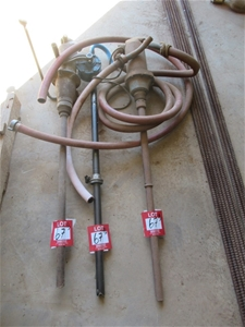 Qty 3 x Drum Pumps