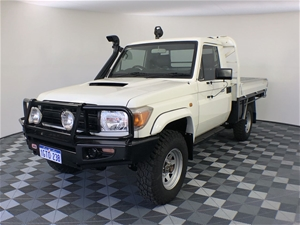2011 Toyota Landcruiser Workmate (4x4) V