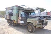 1990 110 Perentie Land Rover 6 x 6 Truck Based Motorhome