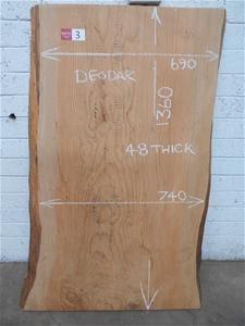 Timber Slab - Deodar (Himalayan) Cedar