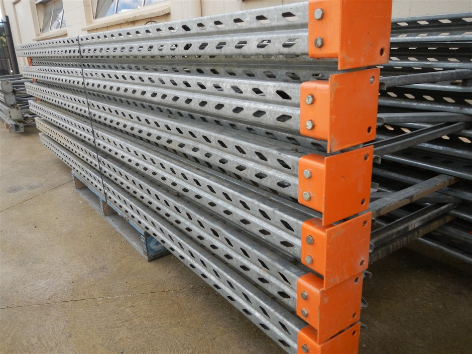 10 bays Colby pallet racking