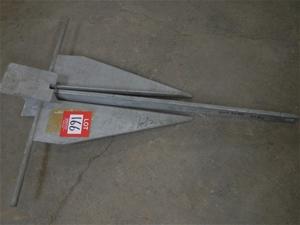 21kg galvanised steel anchor, RWB 7230
