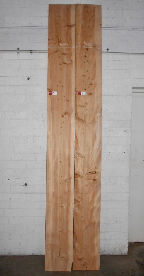 Board pack (2 boards) - Deodar (Himalayan) Cedar