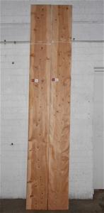 Board pack (2 boards) - Deodar (Himalaya