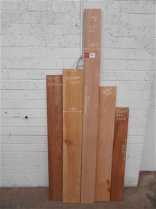 Assorted timber / furniture board pack (