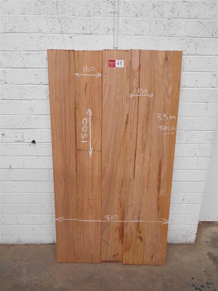 Assorted timber / furniture board pack (5 boards) - Australian Hardwood.