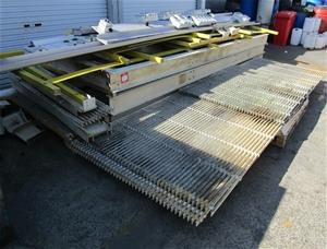 Walkway Assembly all fibreglass construc