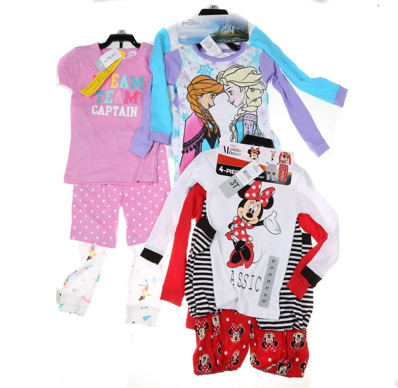 3 Sets x Assorted Girl`s Clothing Set, Size 3T, incl; DISNEY Minnie Mouse C