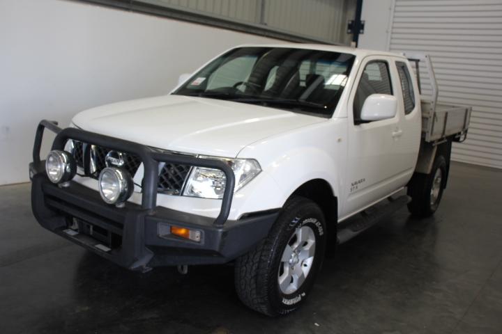 2012 Nissan Navara ST-X Extra Cab Turbo Diesel Auto 4WD