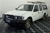 Unreserved 2000 Holden Rodeo LX R9 Automatic Dual Cab