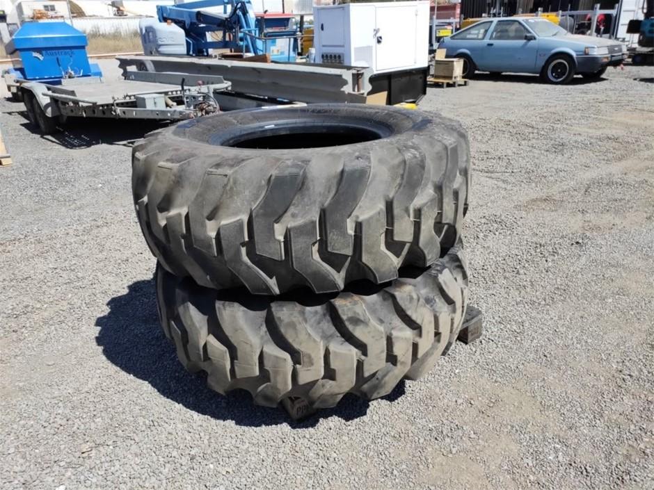 Qty 2 x Firestone Super Ground Grip Tyre