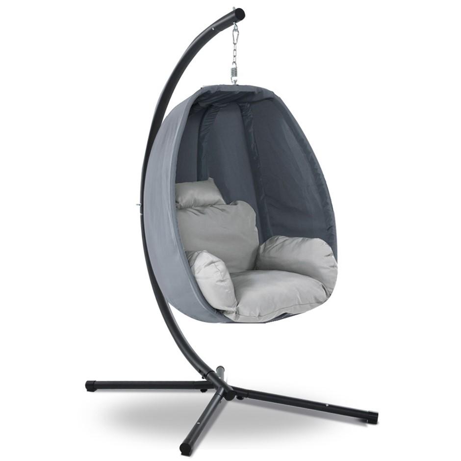 Gardeon Outdoor Furniture Egg Hammock Hanging Swing Chair Pod Lounge Chairs