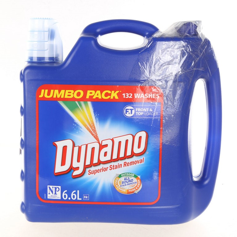 Jumbo Pack of 132 Washes DYNAMO Stain Remover for Front & Top Loader. (SN:C