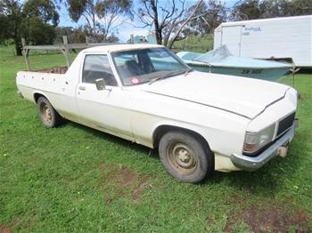 1982 Holden WB Manual Ute