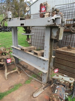 50 Ton Workshop Press