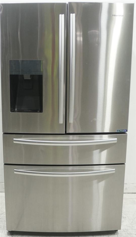 Hisense Stainless Steel 701L French Door Fridge (HR6FDFF701SW)