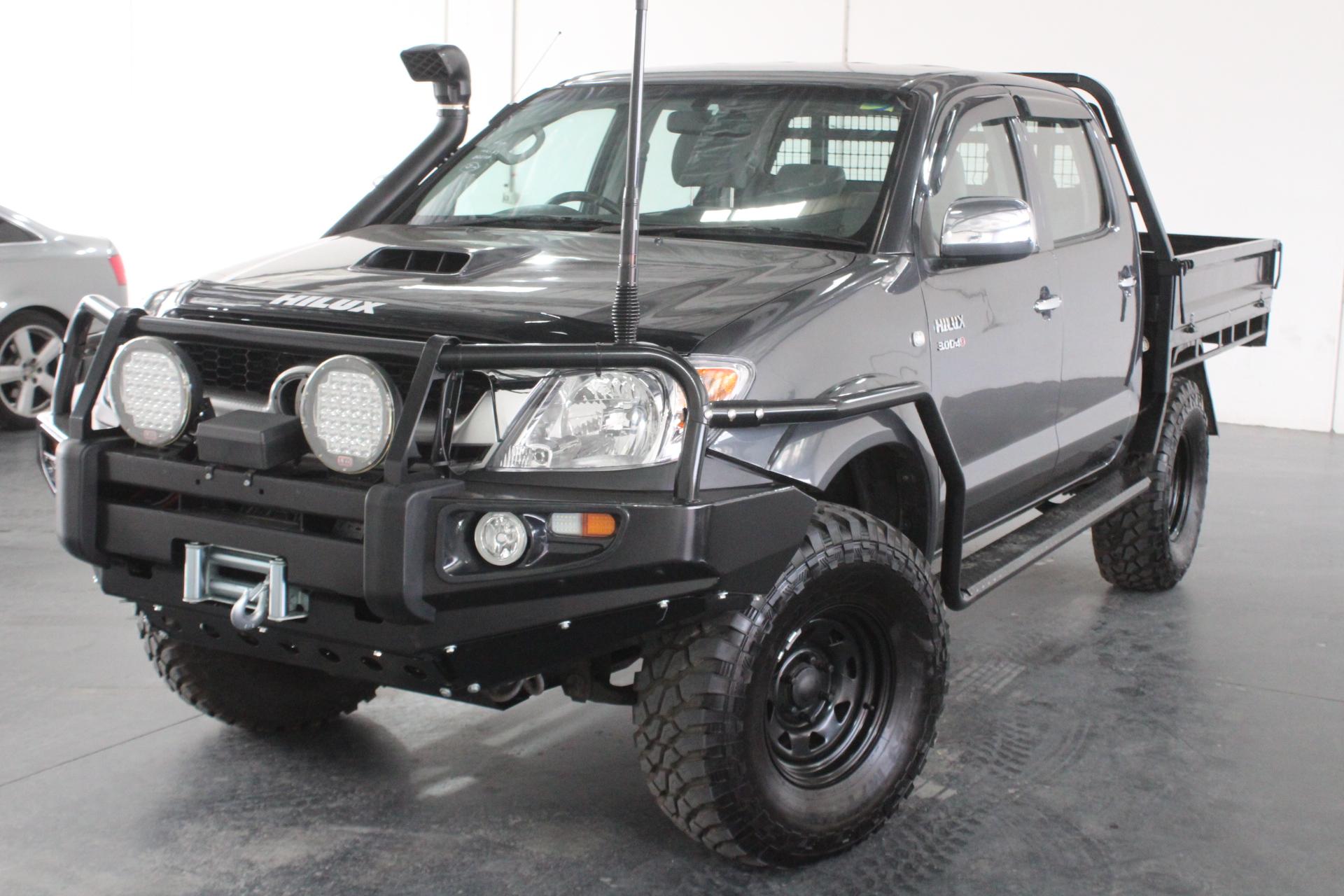 2008 Toyota Hilux SR5 (4x4) KUN26R Turbo Diesel Manual Dual Cab