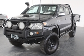 Unreserved 2008 Toyota Hilux SR5 4x4 KUN26R T/Diesel Man