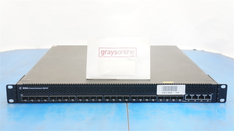 Dell PowerConnect 8024F 24-Port Fibre SFP+ Switch