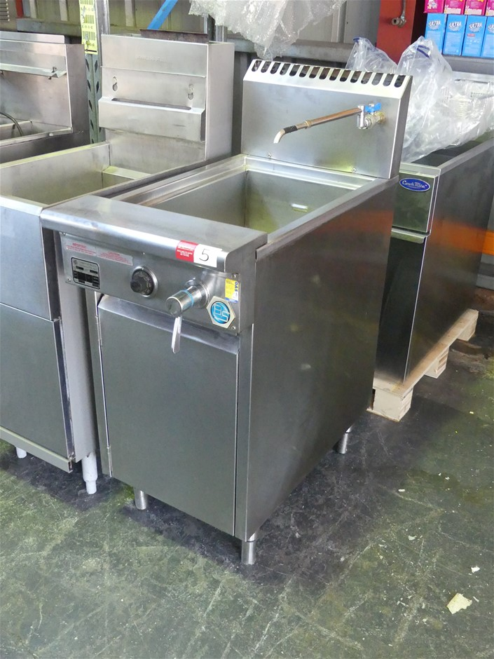 Commercial Kitchen Appliances NC6 Free Standing Gas Pasta Cooker