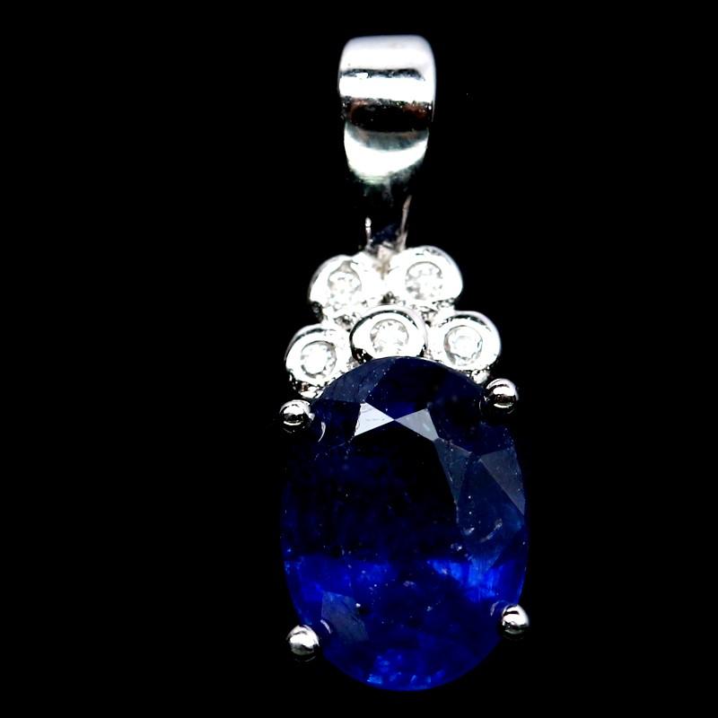 Stunning Genuine Sapphire Pendant