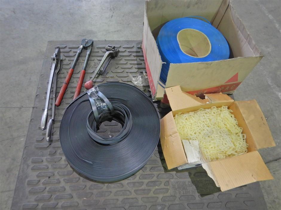 Qty of Pallet Straping Accessories (Pooraka, SA)