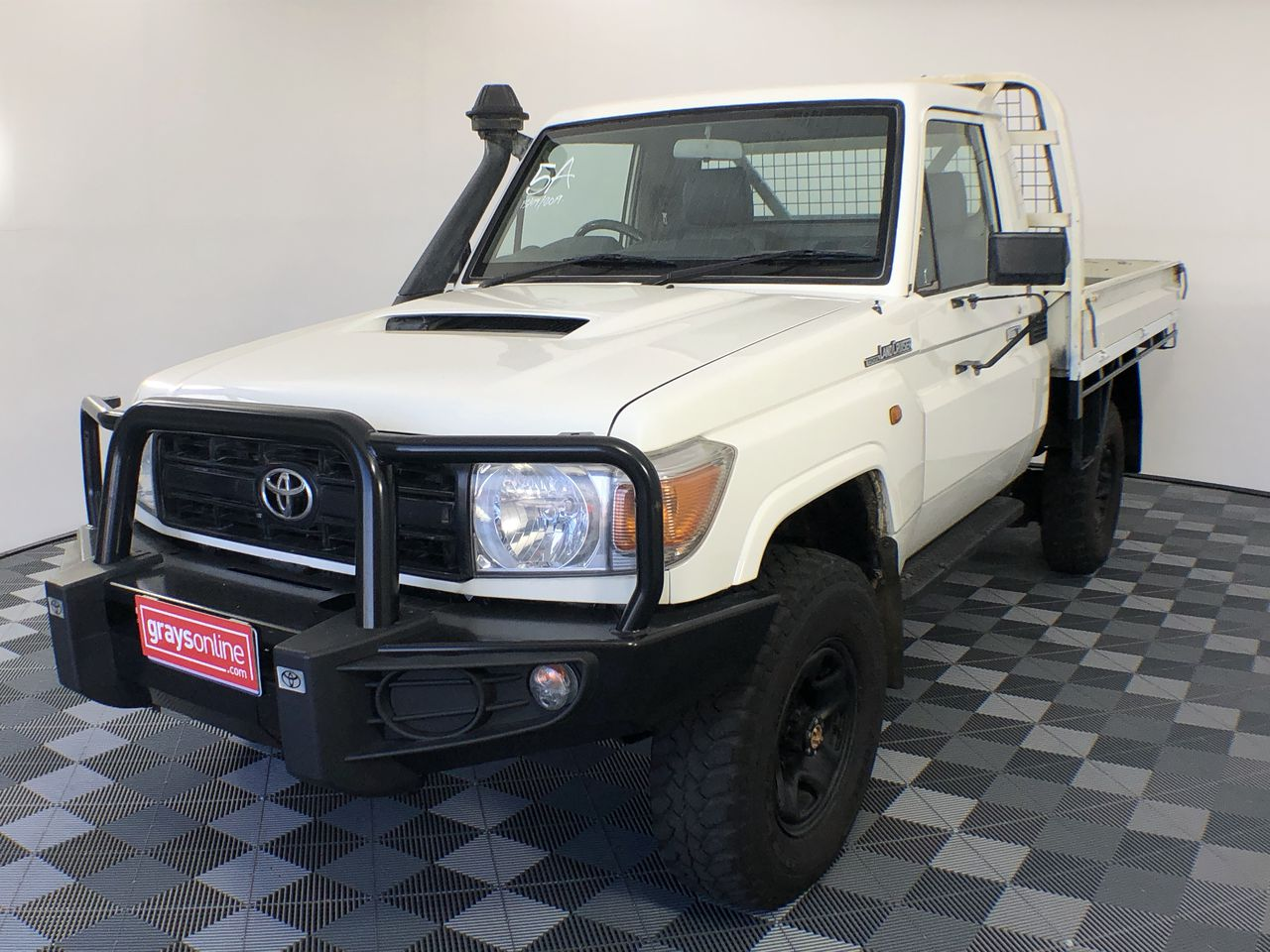 2014 Toyota Landcruiser Workmate (4x4) VDJ79R T/Diesel Manual Cab Chassis