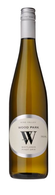 Wood Park Whitlands Pinot Gris 2019 (12 x 750mL), King Valley, VIC.