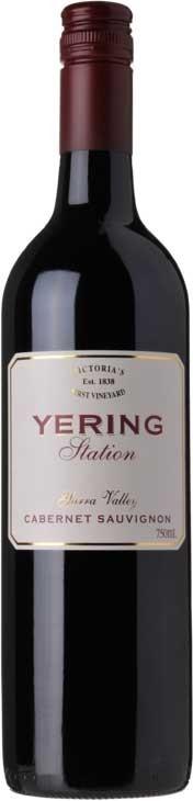 Yering Station Estate Cabernet Sauvignon 2017 (6 x 750mL), Yarra Valley.