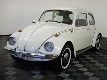 1970 Volkswagen Beetle 1500 Manual Coupe