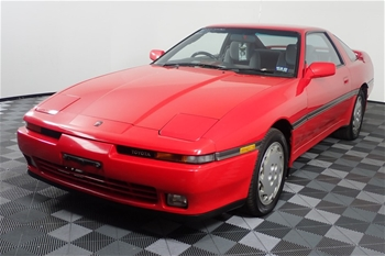 Unreserved 1989 Toyota Supra Manual Coupe