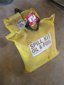 Qty 2 x Oil and Fuel Spill Kits