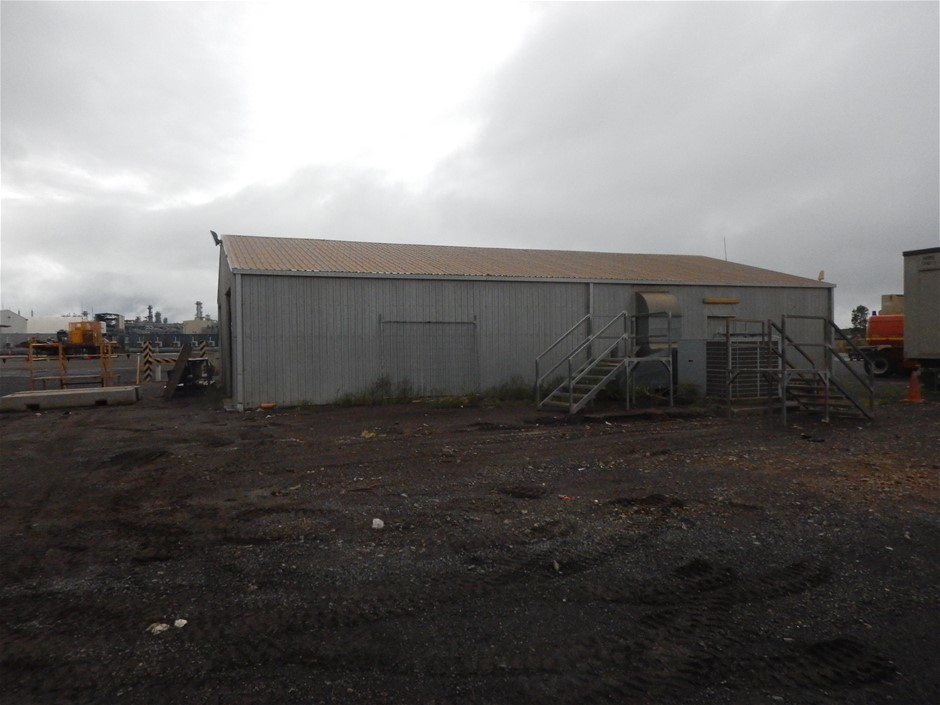 Galvanised Shed, steel fabrication (Disassembled) (B-Type)