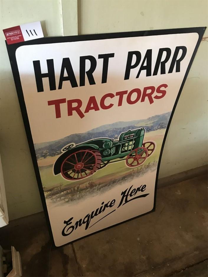 Sign, Hart Parr Tractors (265702-111)