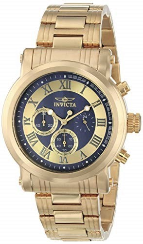 Stylish new Invicta chronograph men's watch.