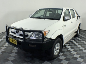 2007 Toyota Hilux SR5 (4x4) GGN25R Manua