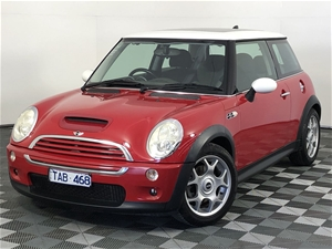 2004 Mini Cooper S Manual Hatchback
