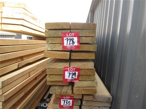 Pack of 190mm x 35mm Treated Pine. F7 St