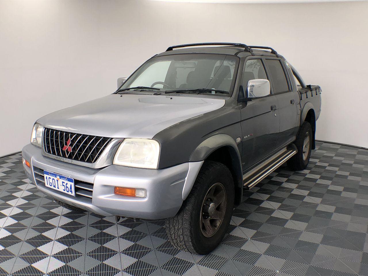 2005 Mitsubishi Triton GLX-R (4x4) MK Automatic Dual Cab (WOVR- Inspected)