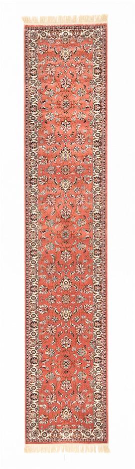 Machine Made Art Silk Pile Floor Rug Size (cm): 80 x 300