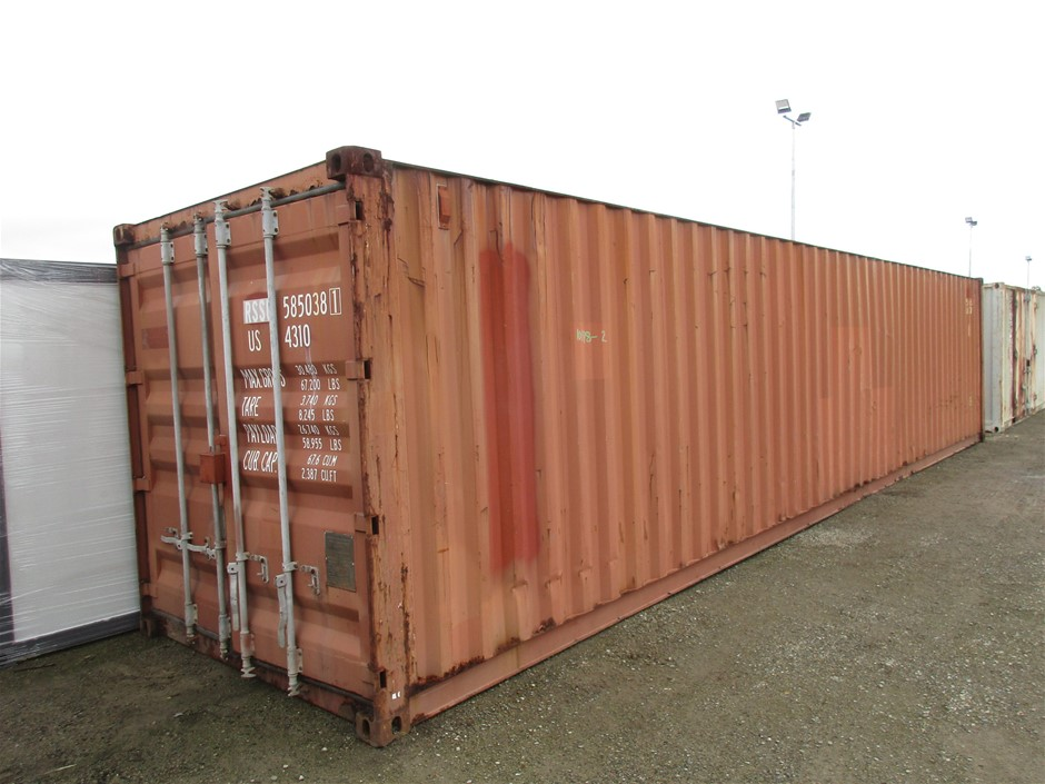 40ft Shipping Container and Contents