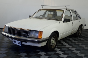 Unreserved 1981 Holden Commodore VC Manual Sedan