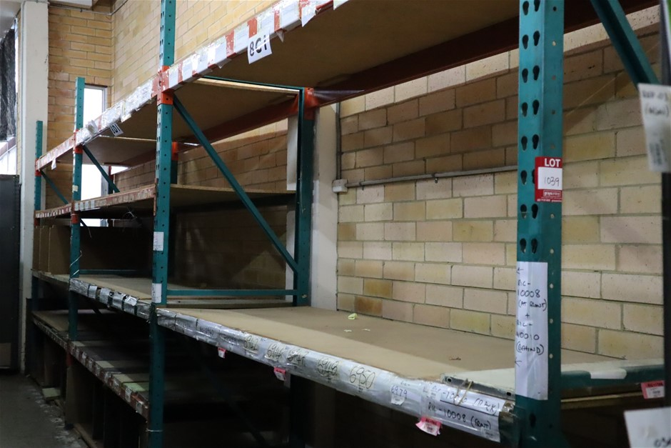 3 x Bays Colby Pallet Racking