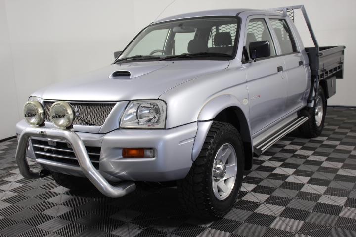 2005 Mitsubishi Triton GLX-R (4x4) MK Turbo Diesel Dual Cab